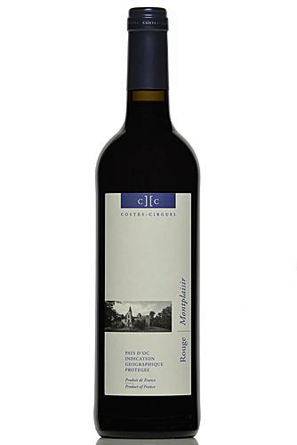 Montplaisir, IGP Oc, vin biologique sans sulfites ajoutés
