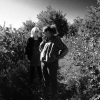 Béatrice Althoff avec Christelle dans les vignes